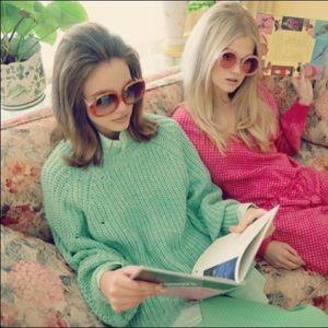 Wildfox Valley Sweater 'green/mint' size L